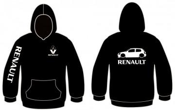 Sweatshirt com capuz para Renault Clio 2