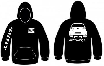 Sweatshirt com capuz para Seat Sport - Ibiza 6k2