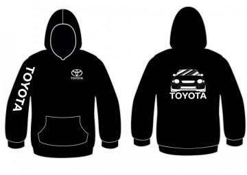 Sweatshirt com capuz para Toyota Corolla e11 frente