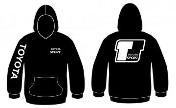 Sweatshirt com capuz para Toyota Sport