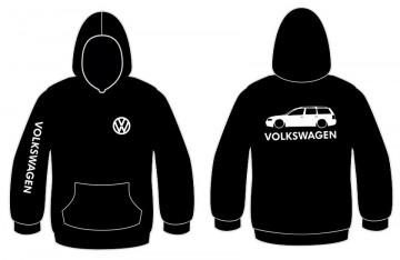 Sweatshirt com capuz para Volkswagen Passat 3B