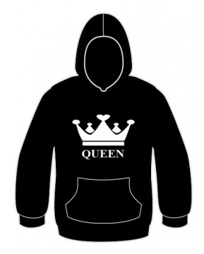 Sweatshirt com capuz - Queen