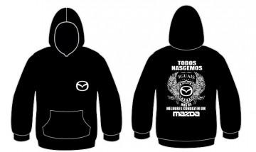 Sweatshirt com capuz Todos Nascemos (Mazda)