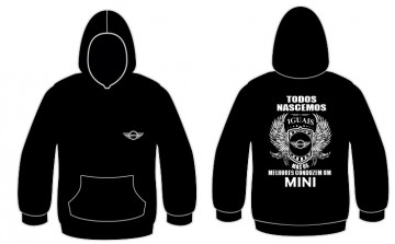 Sweatshirt com capuz Todos Nascemos (Mini)