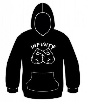 Sweatshirt com Infinity