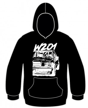 Sweatshirt com Mercedes 190 - W201