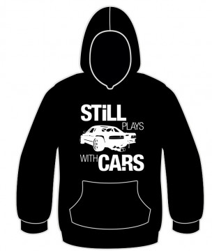 Sweatshirt para still plays with cars