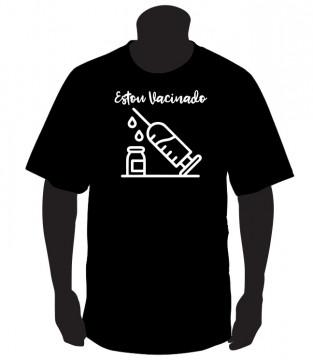 T-shirt Estou Vacinado
