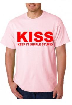 T-shirt  - KISS Keep It Simple Stupid