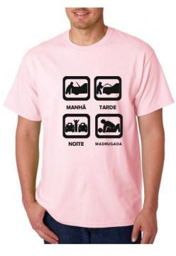 T-shirt  - MANHA TARDE NOITE MADRUGADA