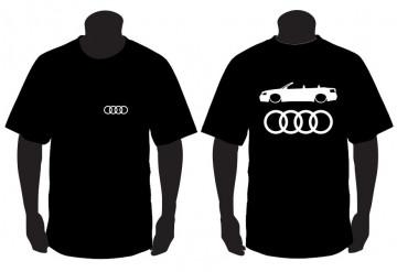 T-shirt para Audi A4 B6 Cabrio