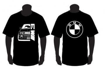 T-shirt para BMW E30 m3 Frente