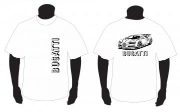 T-shirt para Bugatti Veyron