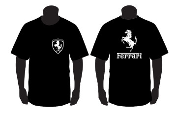 T-shirt  para Ferrari