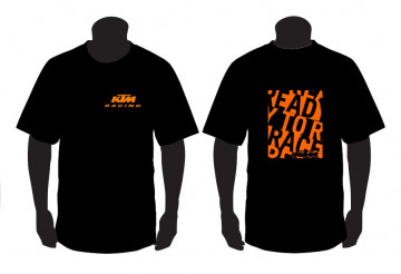 T-shirt para KTM Ready to Race