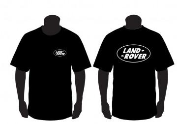 T-shirt para Land Rover