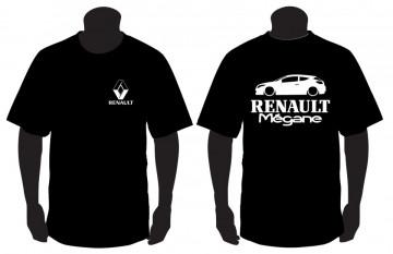 T-shirt para Renault Megane III Coupe