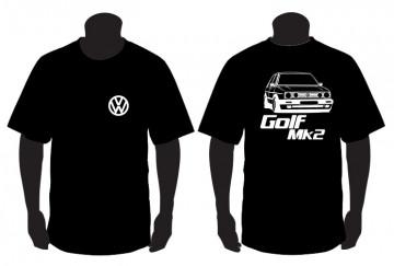 T-shirt para Volkswagen Golf Mk2