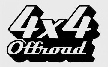 Autocolante - 4x4 OffRoad