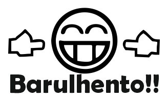 Autocolante -  Barulhento