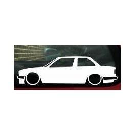Autocolante - BMW E30 Coupe