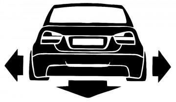 Autocolante - BMW E90