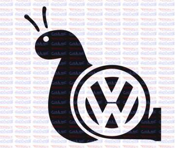Autocolante - Caracol VW