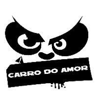 Autocolante - Carro do amor