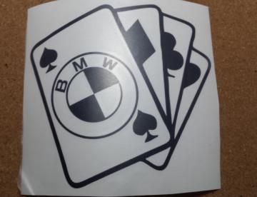 Autocolante- Cartas BMW