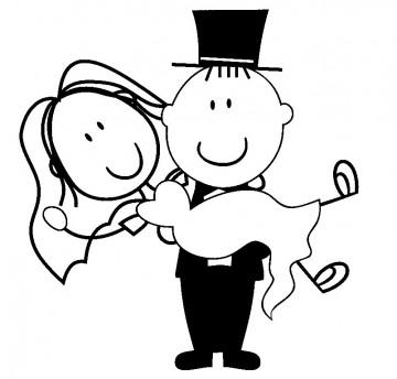 Autocolante - Casados
