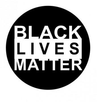 Autocolante com Black Lives Matter
