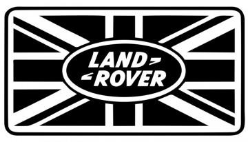 Autocolante com Land Rover