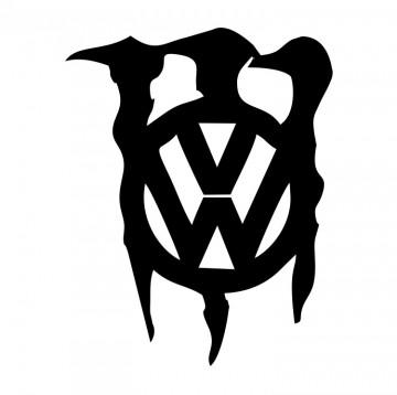 Autocolante com Monster VW