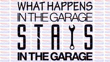 Autocolante - Garage