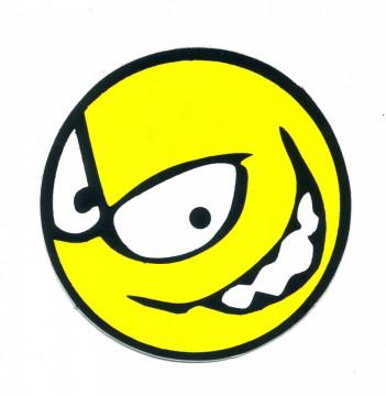 Autocolante Impresso - Smile lateral