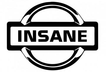 Autocolante -  Insane