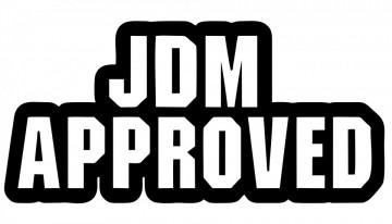 Autocolante  -  jdm Approved