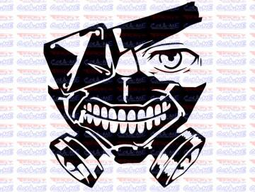 Autocolante - Máscara
