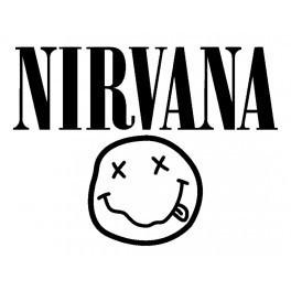Autocolante Música - Nirvana