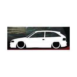Autocolante - Opel Astra F 3 portas
