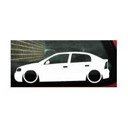 Autocolante - Opel Astra G 5 Portas