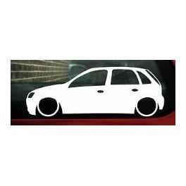 Autocolante - Opel Corsa C 5 Portas