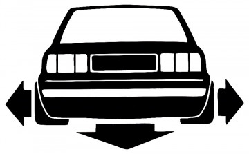 Autocolante para Audi A80