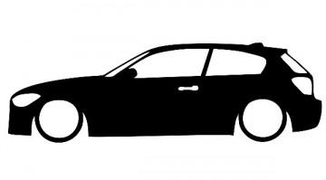 Autocolante para BMW f20 Serie 1