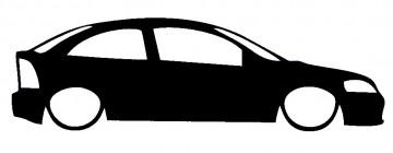 Autocolante para Opel Astra G
