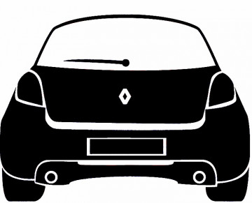 Autocolante para Renault Clio 3