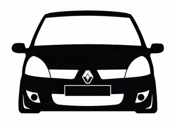 Autocolante para Renault Clio MK2 fase 2