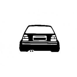 Autocolante para VW Golf Mk3