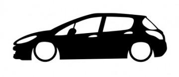 Autocolante -  Peugeot 308