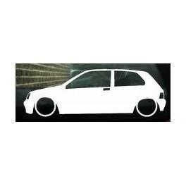 Autocolante - Renault Clio MK1